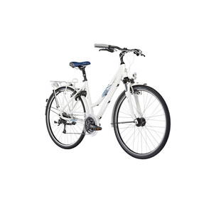 Kalkhoff Connect 27 - Vélo de ville Femme - Trapez blanc